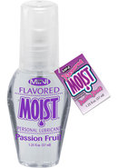 Mini Moist Flavored Water Based Personal Lubricant Passion...