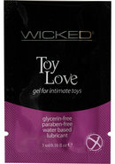 Wicked Toy Love Gel Foil Packs .10...