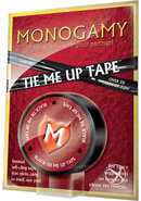Monogamy Tie Me Up Tape Black