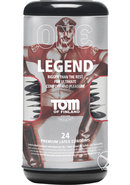 Tom Of Findland One Legend Premium Latex Condoms 24 Each...