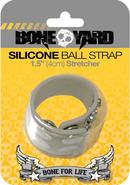 Boneyard Silicone Ball Strap Grey