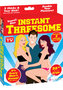 Travel Size Instant Threesome Blow Up Dolls 26 Inch